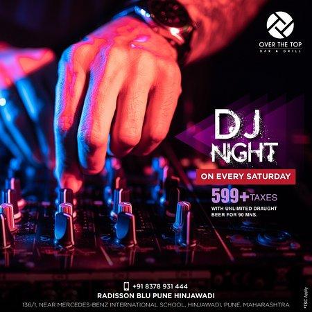 DJ night every saturday