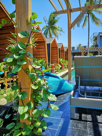 Gili Trawangan, Indonesia: Pool side absolute villa