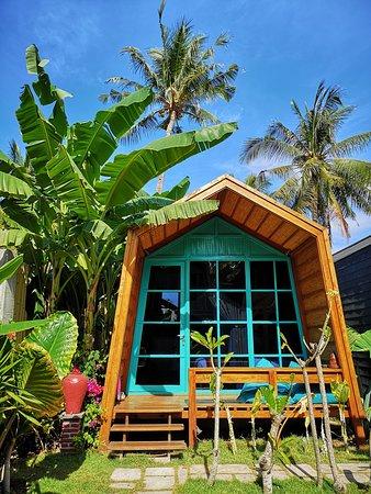 Gili Trawangan, Indonesia: Bungalow garden view absolute villa