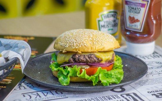 Hambúrguer maravilhoso!!!
