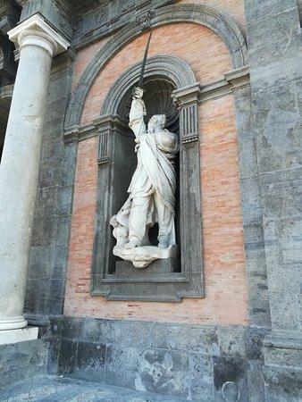 Palazzo Reale (Кополевский дворец), Piazza Plebiscito, Неаполь, январь.