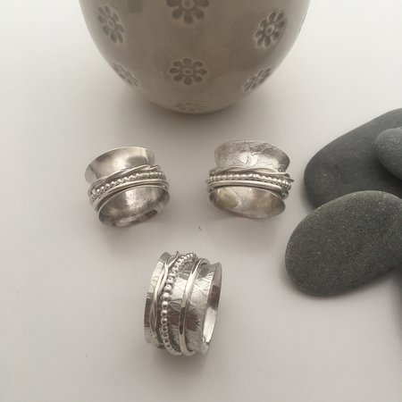 Silver and Stone Jewellery Design by Helen Drye