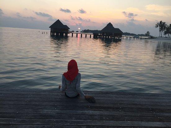 Gazing at sunset