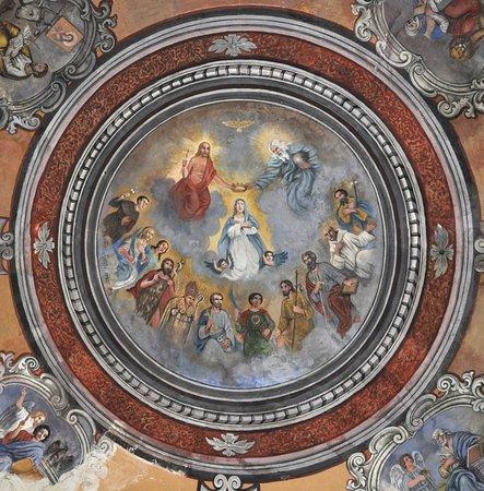 La Gloria dei Santi (affresco della cupola)