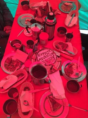 Food during the Inca Trail - Inca Trail Machu Picchu
