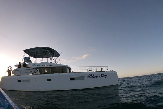 Private Charter on Blue Sky Catamaran