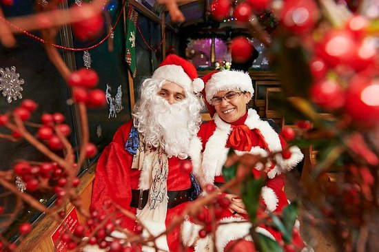 Tour delle luci natalizie e del