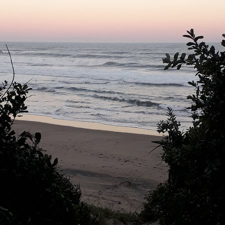 Trafalgar, Južna Afrika: Entrance to the beach