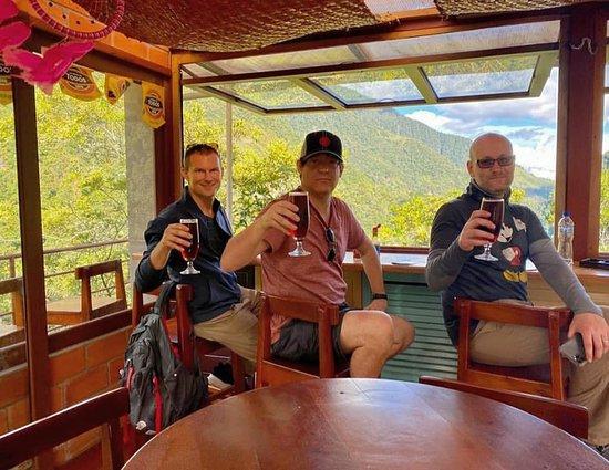 Rioverde, Ecuador: un brindis por la amistad con el mejor paisaje