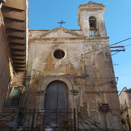Racalmuto, Italy: Lovely hilltop town about 30 minutes from Agrigento.