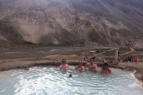 Source chaude - Cajón del Maipo