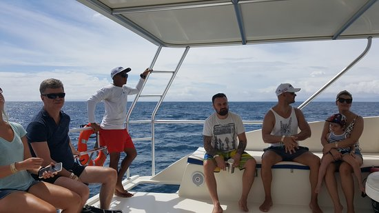 Tortuga Island Tour with Costa Cat: View from the top deck.