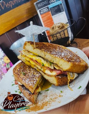 Cafe Playero: French Sandwich.