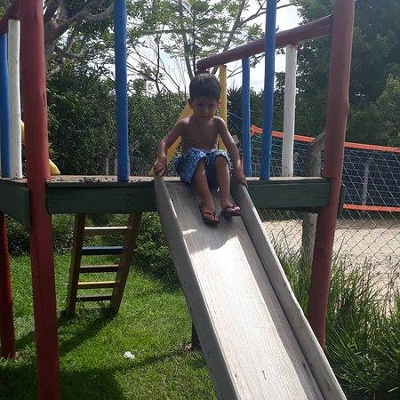 Playground para as crianças.