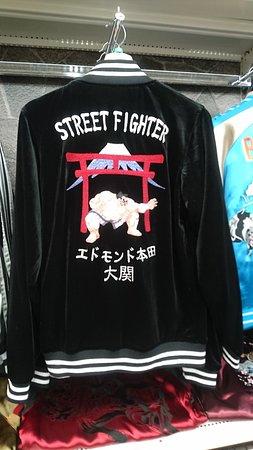 Gufの #ストリートファイター #StreetFighter エドモンド本田のスカジャン! ( #大阪日本橋Guf  Japan Culture & Character Shop Guf  #大阪 #日本橋 #難波  #osaka #namba #nippombashi  #오사카 #닛폰바시 #난바  #anime #comic #comics #otaku #manga #cosplay #kawaii #japan
