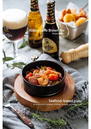 Seafood baked plate - 220K