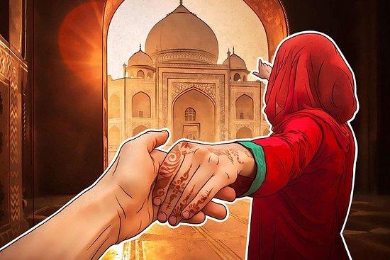 Voyage à Agra avec le Taj Mahal et le...