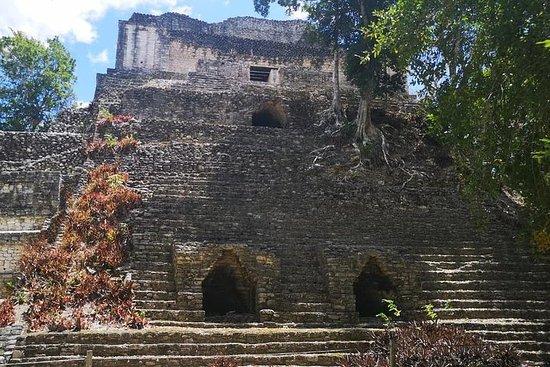 Ancient Dzibanche Maya Ruins Guidet tur fra Costa Maya
