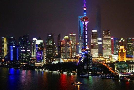 Tour notturno privato di Shanghai