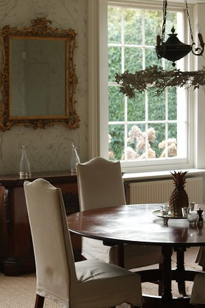 East Hoathly, UK: The dining room