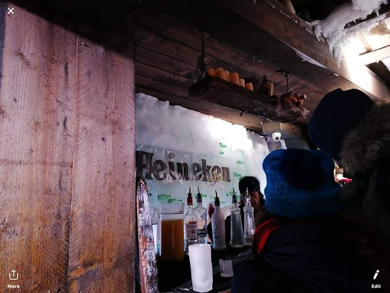 Xtracold Icebar Amsterdam and 1-Hour Canal Cruise: Bar inside
