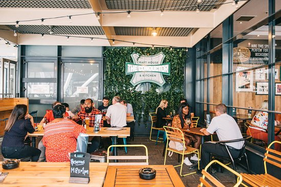 Fresh, vibrant, green and lean – inside you'll find lush and Vibrant décor full of plants for a tranquil environment, teamed with an environmentally sustainable and healthy food and drink offering. Our garden bar is perfect for summer equipped with ping pong tables.