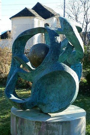 Skulptur im Parco del Clown, Verscio