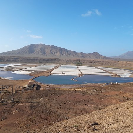 Pedra de Lume, Cape Verde: Nice view from salt