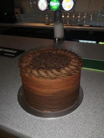 Whole Chocolate Cake made by Kay