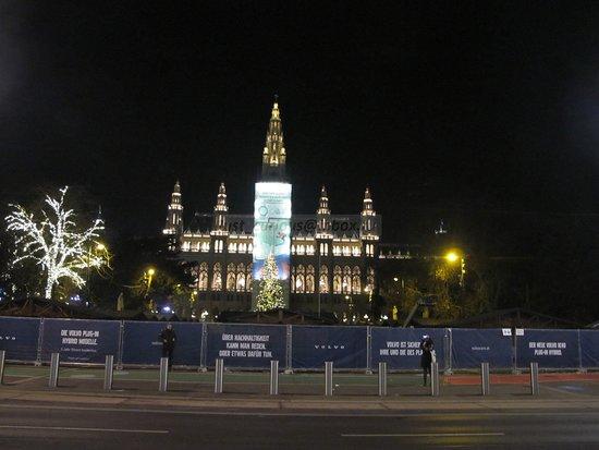 City Hall Square: major construction site