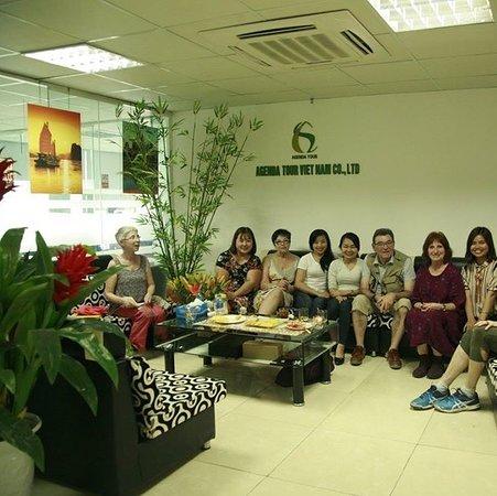 on vous accueille à notre bureau Agenda Tour à Hanoi - Vietnam