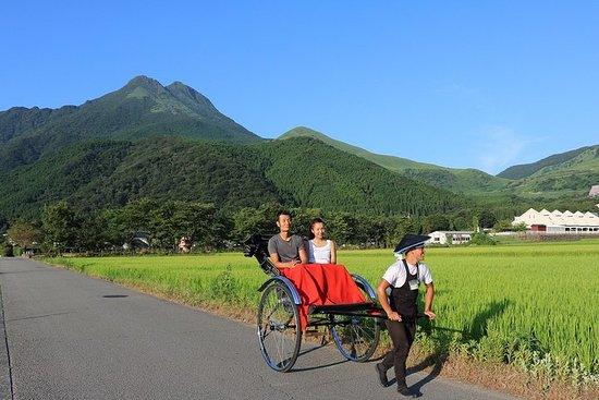 Tour de la capitale du printemps de Yufuin Rickshaw