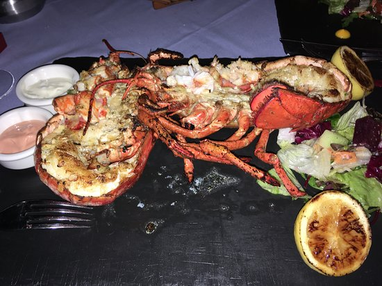 Beautiful Lobster at Fishbone (not part of the all inclusive package)