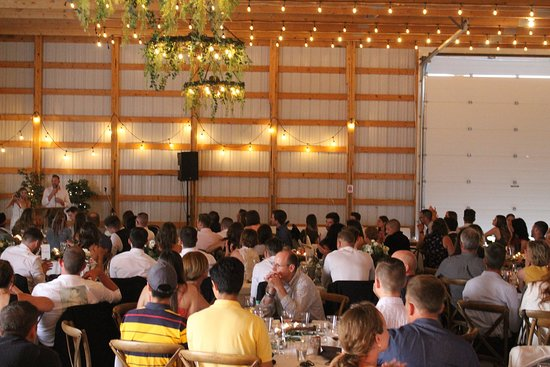 Rustic Barn a great place for dinners and events with live music or a DJ!