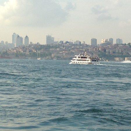 Sea sun ship Istanbul is really beautiful