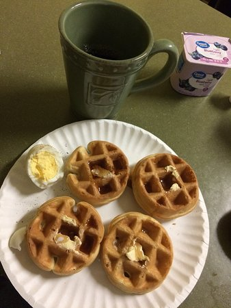 Delicious mini-waffles you make yourself