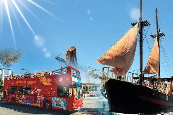 Hop On - Hop Off Open Bus Tour (Limassol) & Pirate Cruise – fotografija