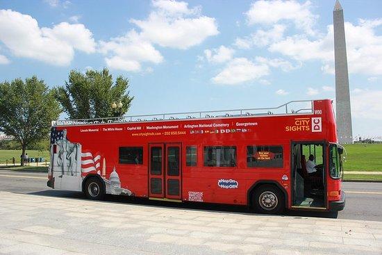 Hop-On Hop-Off Bus Tour of Washington DC: Monuments, Landmarks and...