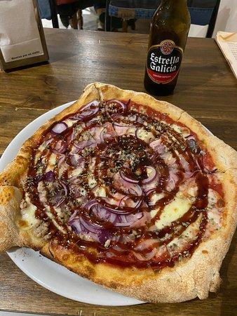 El Pelirrojo: Pizza BBQ