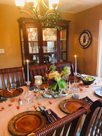 Glen Huron, Kanada: Pre booked dinner events at the Inn