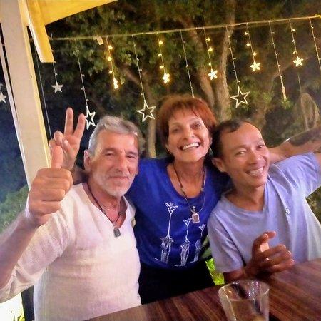 Nous et un ami Cambodgien