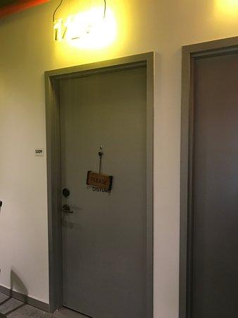 My room and door