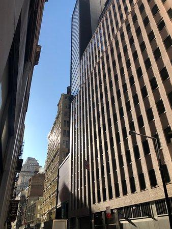 The exterior on Ann Street