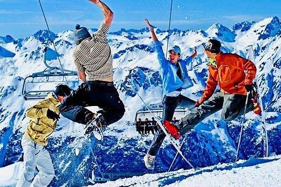 Ananuri, estação de esqui Gudauri...