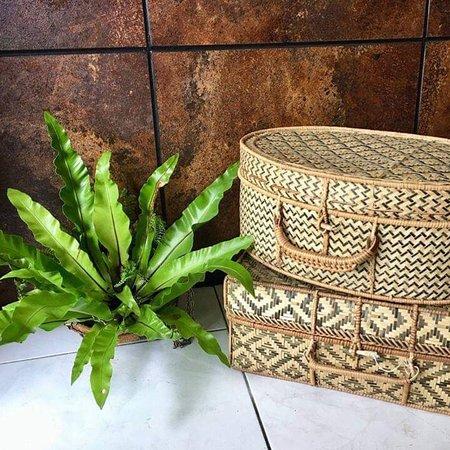 Beautiful bamboo suitcases from Laos #Handmade #TaiBaan