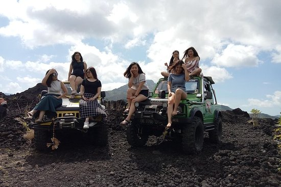 Aventura em Mount Batur Jeep