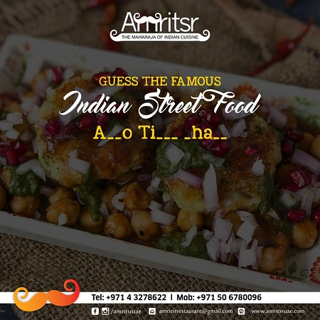 #GuessTheFood Alert!  Guess the Indian street food that will make your tummy full and drool!  #Amritsr #ThursdayFun #FoodFun #GuessTheDish #IndianStreetFood #StreetFood #QuizTime #Fun #FunTime #Quiz #QuizAlert #Foodies #Dubai #UAE