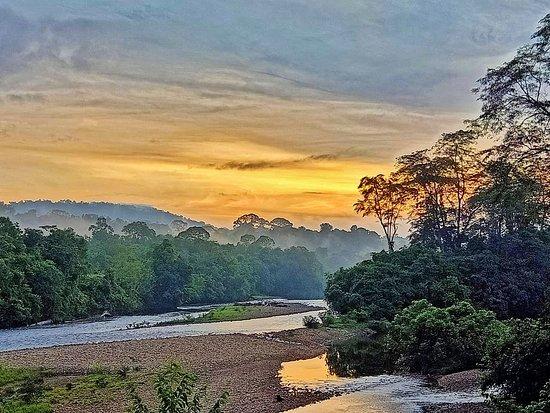 Batang Duri, Brunei Darussalam: Sunrise view