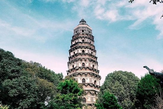 Suzhou Private Tour Including Lingering Garden and Tiger Hill with Bonsai Class Photo