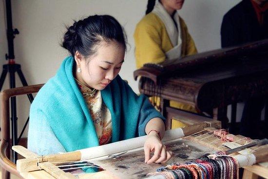 Suzhou Prviate Tour: Garden of Cultivation, Shantang Street,Embroidery, Rickshaw – fénykép